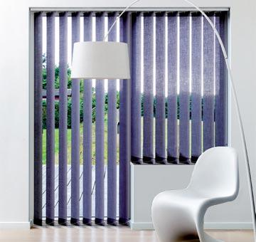 verticale lamellen voor deur raamsituatie